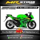 Stiker motor decal Ninja 250 Hulk