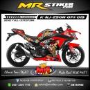 Stiker motor decal Ninja 250 New ONE PIECE Series
