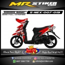Stiker motor decal NEX Mickey Mouse