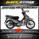 Stiker motor decal Shogun RR Gray Color Splat