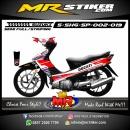 Stiker motor decal Shogun SP Ducati