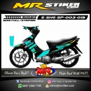 Stiker motor decal Shogun SP Striping Gradation