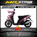 Stiker motor decal Spin Hello Kity