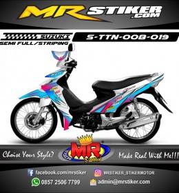 Stiker motor decal Titan Air Brush Color