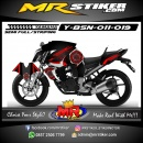 Stiker motor decal Byson Mecha techno carbon