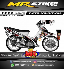 Stiker motor decal FIZ R Racing Team Race 2