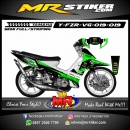Stiker motor decal FIZ R Racing Team Race 4