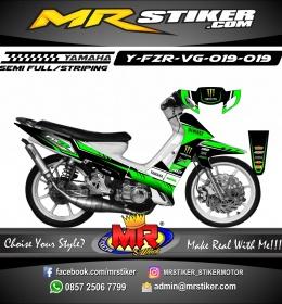 Stiker motor decal FIZ R Racing Team Race 4