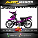 Stiker motor decal Jupiter Z Purple Black Shark