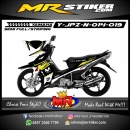 Stiker motor decal Jupiter Z New Grafis Race Movistar