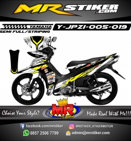 Stiker motor decal Jupiter Z1 Race Splat