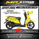 Stiker motor decal Mio Fino New Spongebob