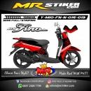 Stiker motor decal Mio Fino New Konoha Clan