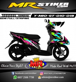 Stiker motor decal Mio GT ColorFull