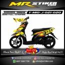 Stiker motor decal Mio J Rossi