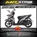Stiker motor decal Mio M3 Silver Ultimate