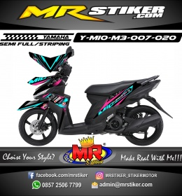 Stiker motor decal Mio M3 Neon Color