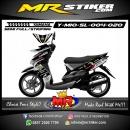 Stiker motor decal Mio Soul Gray Sunmoon Rossi