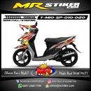 Stiker motor decal Mio Sporty Splash AirBrush