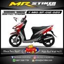 Stiker motor decal Mio Sporty AirBrush Tech