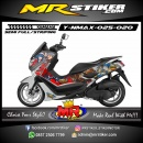 Stiker motor decal Nmax Mobile Legend