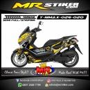 Stiker motor decal Nmax Bumble Bee Transformer
