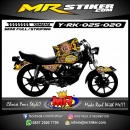 Stiker motor decal RX King Batik Barong