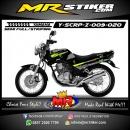 Stiker motor decal Scorpio Z Line Green Stabillo