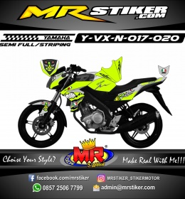 Stiker motor decal Vixion New Shark Stabillo color