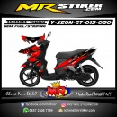 Stiker motor decal Xeon GT Red Race Grafis