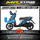Stiker motor decal X-Ride Volcom