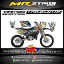 Stiker motor decal YZ 85 New All Monster