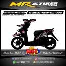 Stiker motor decal Honda Beat New Pinky Strip