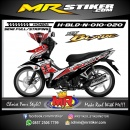 Stiker motor decal Honda Blade New Lorenzo decal