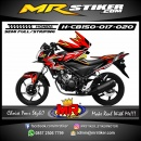 Stiker motor decal Honda CB 150 R Ranger Strip Gradation