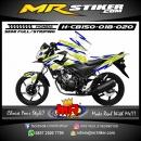 Stiker motor decal Honda CB 150 R Tribal shadow Lemon Color