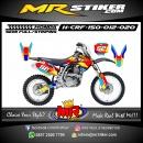 Stiker motor decal Honda CRF 150 Color Full