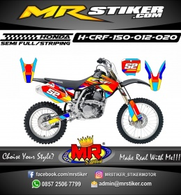 Stiker motor decal Honda CRF 150 Color Full