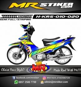 Stiker motor decal Honda Karisma Gutard 2 Series