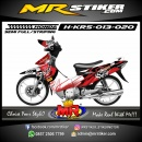 Stiker motor decal Honda Karisma Fox Splater