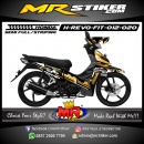 Stiker motor decal Honda Revo Fit Mecha