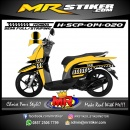 Stiker motor decal Honda Scoopy TAXI Grafis