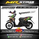Stiker motor decal Honda Vario CBS Minion Zombie 3D