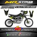 Stiker motor decal KLX 140 Stabilo Gradation