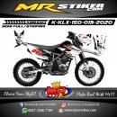 Stiker motor decal KLX 150 Paint Splater Extreme
