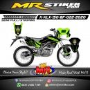 Stiker motor decal KLX 150 BF Green Grafis