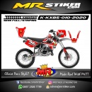 Stiker motor decal KX 85 The Devil of Death