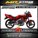 Stiker motor decal Kawasaki Ninja R New Red Line Black Gradation