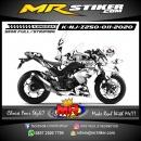 Stiker motor decal Kawasaki Ninja Z 250 Comic Mouse Clowns