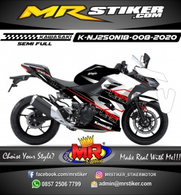 Stiker motor decal Kawasaki Ninja 2018 All New Hitech Grafis